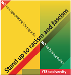 Stand up to Racism and Fascism logo