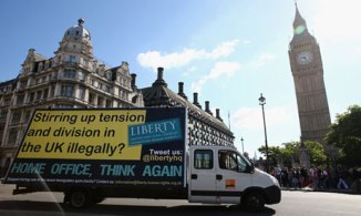 Liberty response to Home Office van