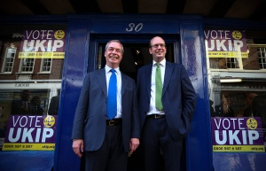 UKIP Campaign In Rochester Before Upcoming By-election